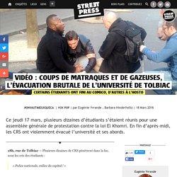 Vidéo: Coups de matraques et de gazeuses, l'évacuation brutale de l'université de Tolbiac
