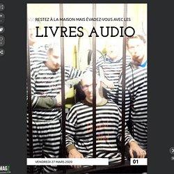 Évadez-vous avec un livre audio - 01