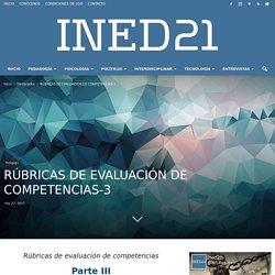 RÚBRICAS DE EVALUACIÓN DE COMPETENCIAS-3