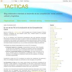 El uso de las TIC en la evaluación de las Competencias Clave