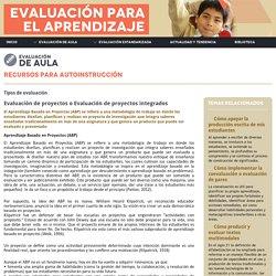 Evaluación de proyectos o Evaluación de proyectos integrados