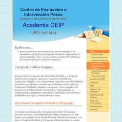 Centro de Evaluación e Intervención Pasos - Terapia de Habla y Lenguaje