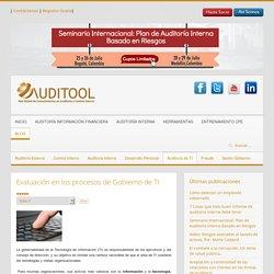Evaluación en los procesos de Gobierno de TI