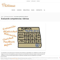 Evaluando competencias: rúbricas – Edikeus