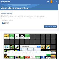 Apps útiles para evaluar- Symbaloo Gallery