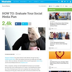 HOW TO: Evaluate Your Social Media Plan