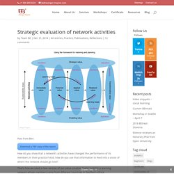 Strategic evaluation of network activities