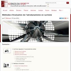 Méthodes d'évaluation de l'aérodynamisme en cyclisme