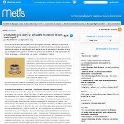 L'évaluation des salariés : simulacre nécessaire et utile, mais à quoi ? - France Conditions de travail
