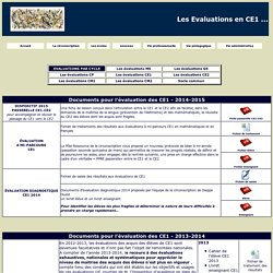 evaluation CE1