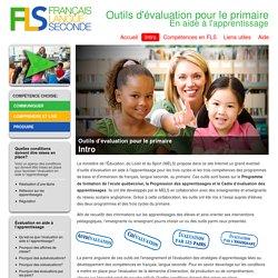 Outils d'évaluation pour le primaire - aide à l'apprentissage