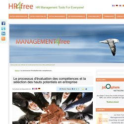 Le processus d'évaluation des compétences et la sélection des hauts potentiels en entreprise