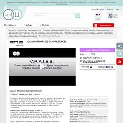 Évaluation des compétences - Ecole Normale Supérieure de Lyon