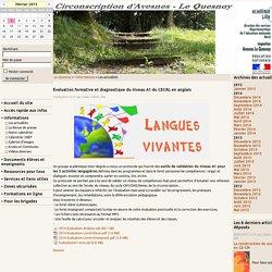 Évaluation formative et diagnostique du niveau A1 du CECRL en anglais - Bienvenue sur notre site