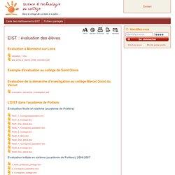 EIST : évaluation des élèves
