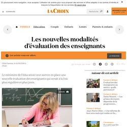 Les nouvelles modalités d'évaluation des enseignants - La Croix