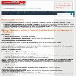 L'INFLUENCE DU DIRIGEANT \ Évaluation d'entreprise \ Info Social
