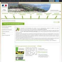 Evaluation Environnementale - Le portail Internet de la DREAL Corse