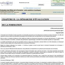 Evaluation des Effets de la Formation : entre ambition et pratiques - Mariem RAHALI et Amal HANCHI