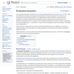 Évaluation formative