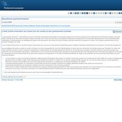 Études d'évaluation des risques pour les variétés de maïs génétiquement modifiées - P-1672/2009