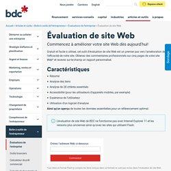 Évaluation gratuite de site Web