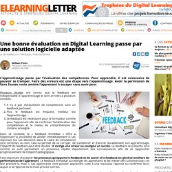 Une bonne évaluation en Digital Learning passe par une solution logicielle adaptée