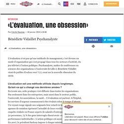 «L'évaluation, une obsession»