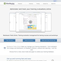 Training Evaluation Software | Measure and Improve your Training