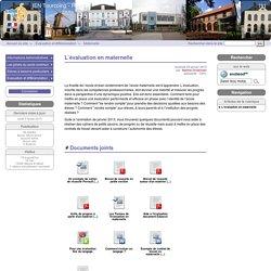 L'évaluation en maternelle - IEN Tourcoing - Roncq