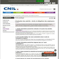 L'évaluation des salariés : droits et obligations des employeurs