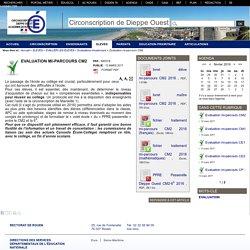 Evaluation mi-parcours CM2