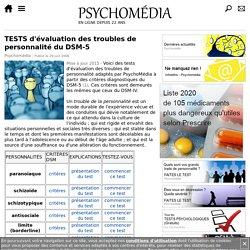 TESTS d'auto-évaluation pour les troubles de personnalité