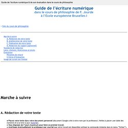 Guide pour la prise de notes collaborative