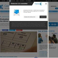 Evaluation positive : faut-il arrêter de noter les élèves ? - France 3 Centre-Val de Loire
