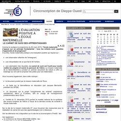Circonscription de Dieppe Ouest - L'évaluation positive à l'école maternelle