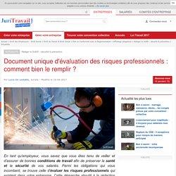 Document unique d'évaluation des risques professionnels : comment bien le remplir ?