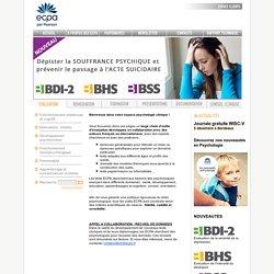Outils d'évaluation - Psychologie clinique - ECPA