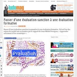 Passer d'une évaluation-sanction à une évaluation formative