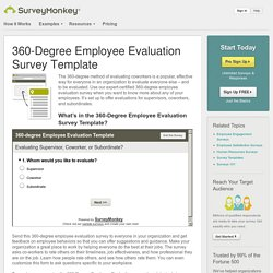 360-Degree Employee Evaluation Survey Template