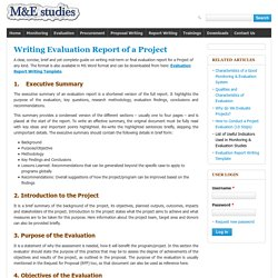 How to Write a Program Evaluation Report (Guide) - Report Format/Template