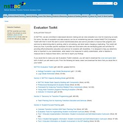 Evaluation Toolkit