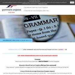 Auto-évaluation anglais interactif gratuit - Grammaire anglaise-Vocabulaire anglais tous niveaux!