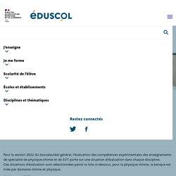 Banques des évaluations des compétences expérimentales (ECE)