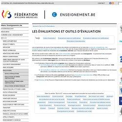 Les évaluations et outils d'évaluation