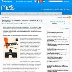 Royaume-Uni : les écoles entre autonomie, évaluations et privatisation - Royaume uni Management et emploi, management et travail, management en europe, gouvernance et travail travail emploi europe