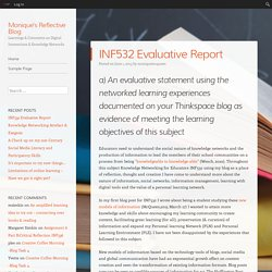 INF532 Evaluative Report