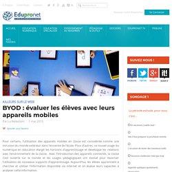 BYOD : évaluer les élèves avec leurs appareils mobiles