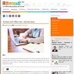 Évaluer avec Office 365 : état des lieux