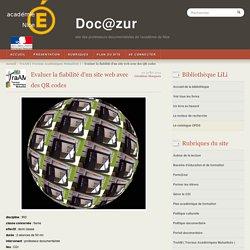 Evaluer la fiabilité d'un site web avec des QR codes